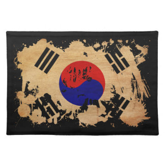 South Korea Flag Placemat