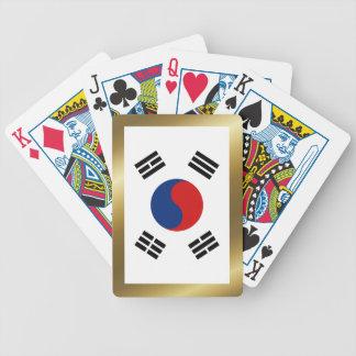 South Korea Flag Playing Cards