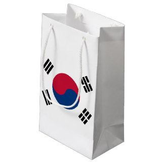 South Korea Flag Small Gift Bag