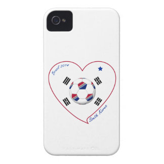 SOUTH KOREA flag SOCCER national team 2014 iPhone 4 Covers