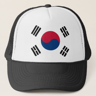 South Korea Flag Trucker Hat
