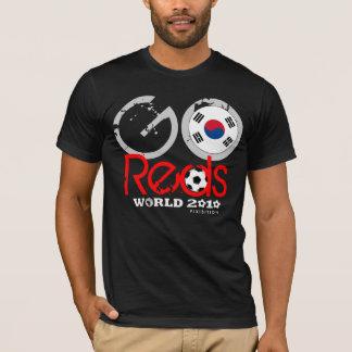 South Korea Go Reds World Cup Black T-Shirt