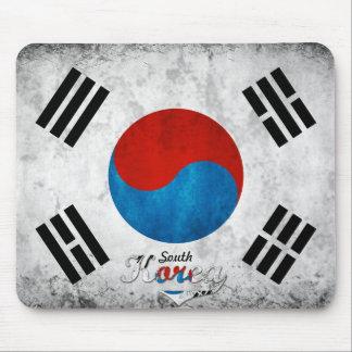South Korea Grunge Mouse Pad