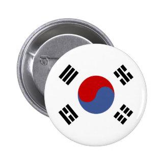 South Korea High quality Flag 6 Cm Round Badge
