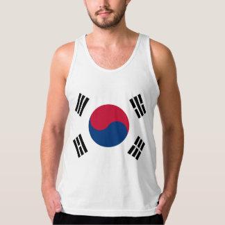 South Korea Korean Flag Seoul S.K. Koreans Pride Tank Top
