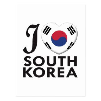 South Korea Love Postcards