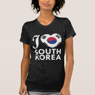 South Korea Love W Tees
