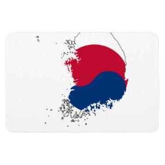 SOUTH KOREA MAP MAGNET