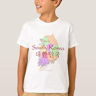 South Korea Map T-Shirt