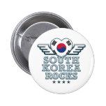 South Korea Rocks v2 Buttons