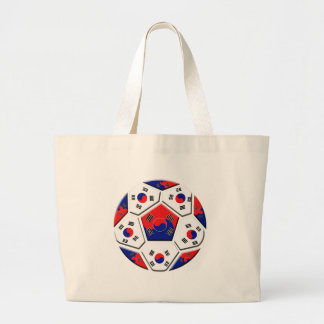 South Korea Soccer Tote Bag