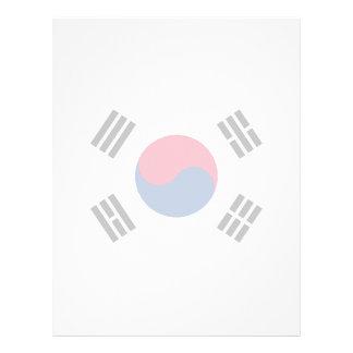 South Korea – South Korean Flag Personalized Flyer