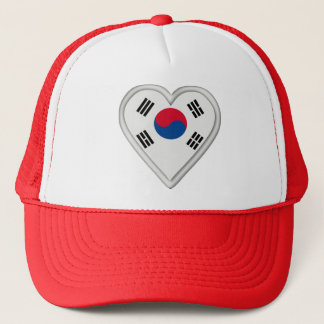 South Korea South Korean flag Trucker Hat