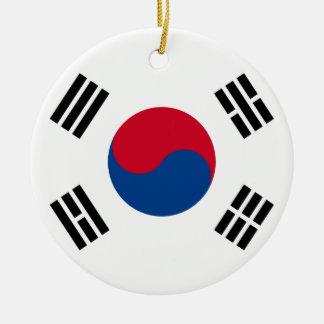 South Korean Flag Christmas Ornament