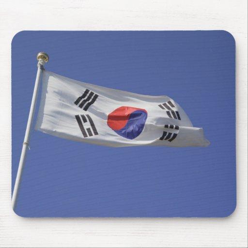 South Korean Flag Mousepad