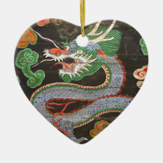 South Korean Namdaemun Sungnyemun Dragon Christmas Ornament