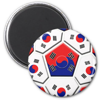 South Korean Soccer Ball flag of Korea Gifts Refrigerator Magnets