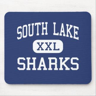South Lake - Sharks - High - Seattle Washington Mouse Mats