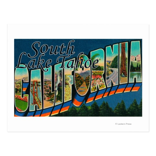 South Lake Tahoe, California Postcard