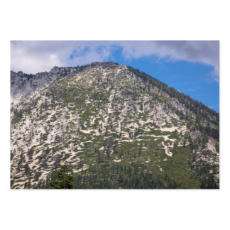 South Lake Tahoe Cascade Mountain Pack Of Chubby Business Cards