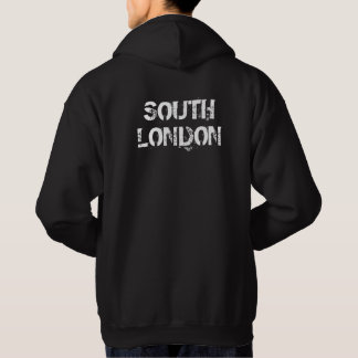 South London - Mens Black Hoodie