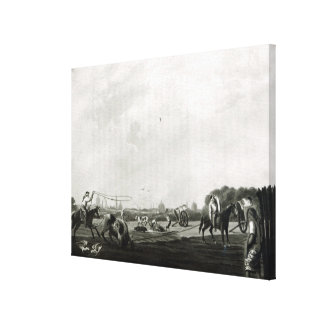 South Matadero  engraved by Maile and Canvas Print