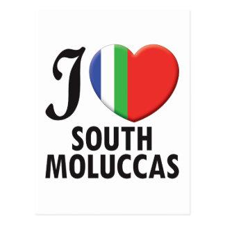 South Moluccas Postcard