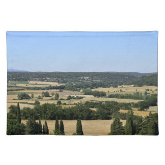 South of France field Placemat