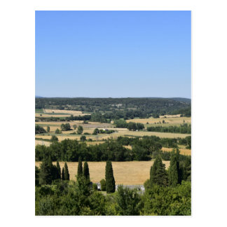 South of France field Postcard