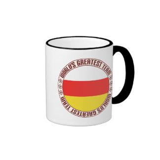 South Ossetia Greatest Team Ringer Mug