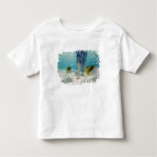 South Pacific, Bora Bora, female tourist walking 2 Toddler T-Shirt