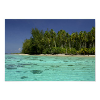 South Pacific, French Polynesia, Moorea 2 Poster