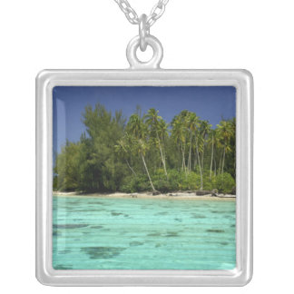 South Pacific, French Polynesia, Moorea 2 Silver Plated Necklace