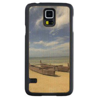 South Pacific, French Polynesia, Moorea. Carved Maple Galaxy S5 Case