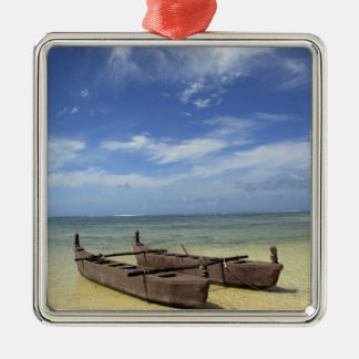 South Pacific, French Polynesia, Moorea. Christmas Ornament