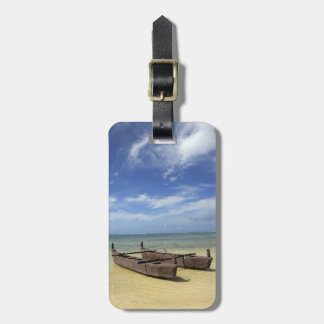 South Pacific, French Polynesia, Moorea. Luggage Tag