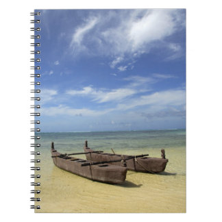 South Pacific, French Polynesia, Moorea. Notebook