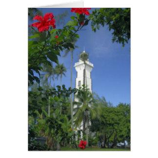 South Pacific, French Polynesia,Tahiti. Hibiscus 2 Card