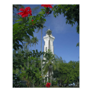 South Pacific French Polynesia Tahiti Hibiscus 2 Posters