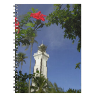 South Pacific, French Polynesia,Tahiti. Hibiscus 3 Spiral Note Book