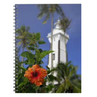 South Pacific, French Polynesia,Tahiti. Hibiscus Notebook