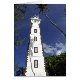 South Pacific, French Polynesia,Tahiti. Venus Card