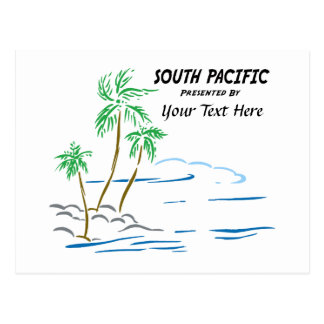 South Pacific, The Musical Postcard