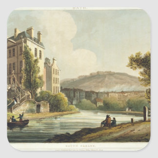 South Parade, from 'Bath Illustrated by a Series o Square Sticker