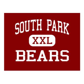 South Park - Bears - High - Buffalo New York Postcard