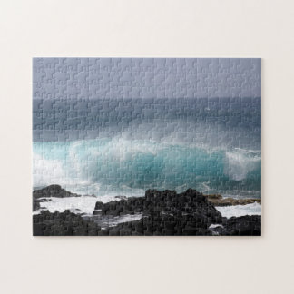 South Point Wave, Hawaii Jigsaw Puzzle