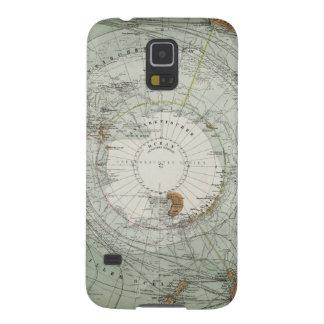 South Polar Region Map Galaxy S5 Case