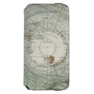 South Polar Region Map Incipio Watson™ iPhone 6 Wallet Case