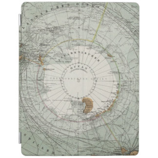South Polar Region Map iPad Cover