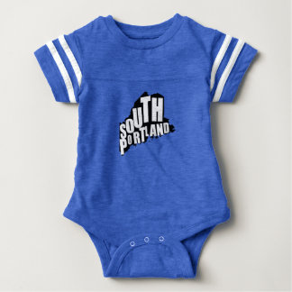 South Portland, Maine Baby Bodysuit